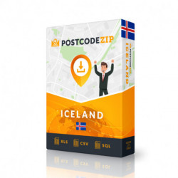 Iceland Complete Set, best file of streets