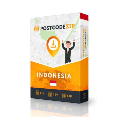 Indonesien, Beste Datei von Straßen, Kompletter Satz