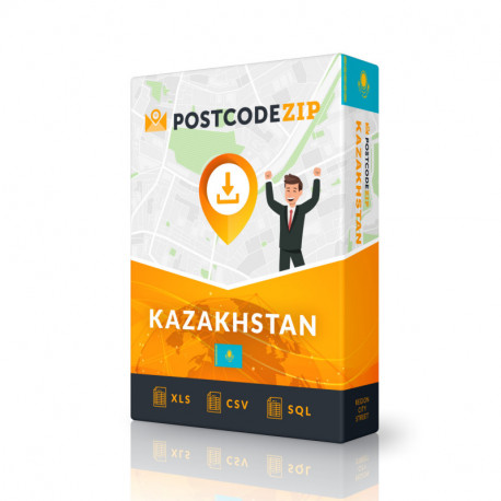 Kazakhstan Complete Set, best file of streets