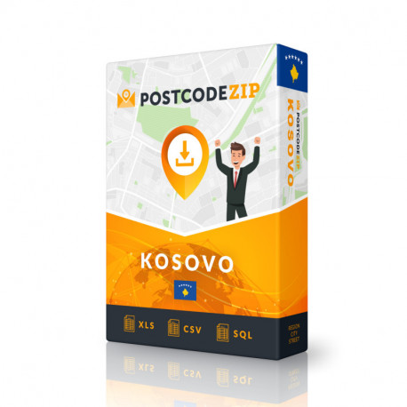 Kosovo Complete Set, best file of streets