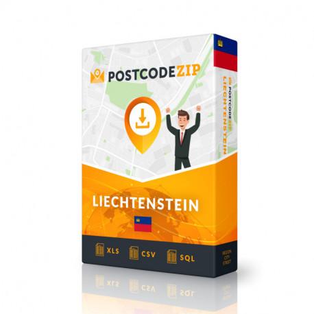 Liechtenstein Complete Set, best file of streets