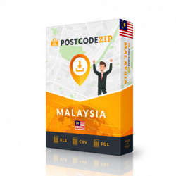Malaysia Complete Set, best file of streets