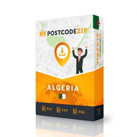 Chad, postal code database