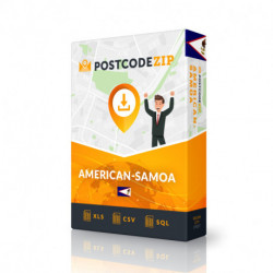 Postcode Chili, base de données des codes postaux
