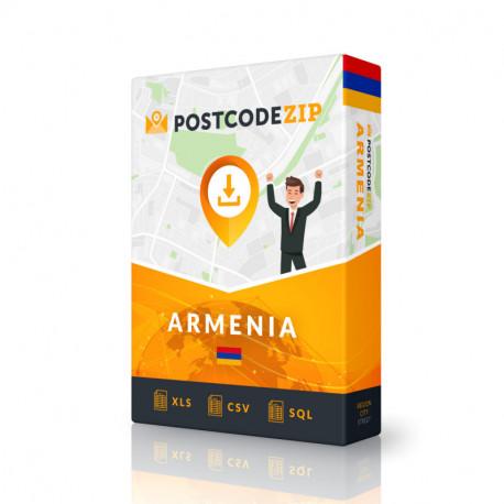 Postcode Armenia