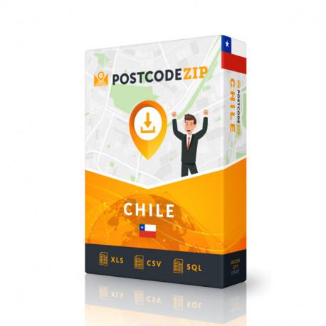 Postcode Gibraltar, postal code database