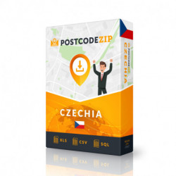 Postcode Iceland, postal code database