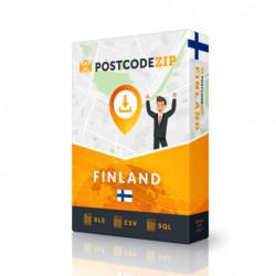 Finnland, Ortsdatenbank, Beste Städtedatei