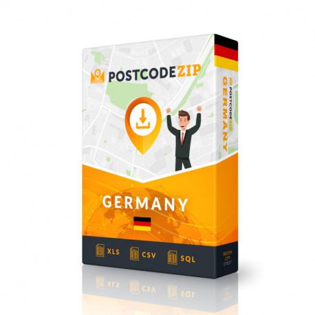 Deutschland, Ortsdatenbank, Beste Städtedatei
