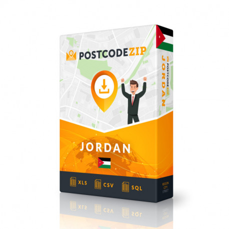 Kazakhstan, base de données des codes postaux