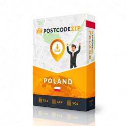 Polen, Ortsdatenbank, Beste Städtedatei