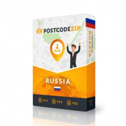Russland, Ortsdatenbank, Beste Städtedatei