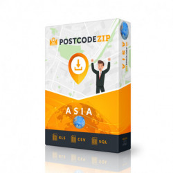 Asia, Location database, best city file