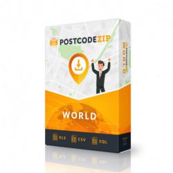 Postcode World