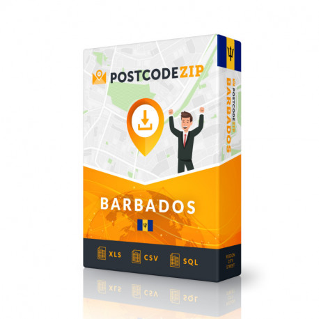 Barbados Complete Set, best file of streets