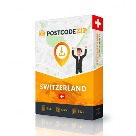 Switzerland Complete Set, best file of streets