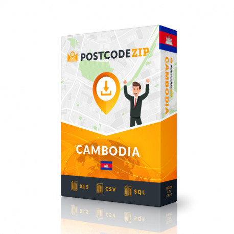Cambodia Complete Set, best file of streets