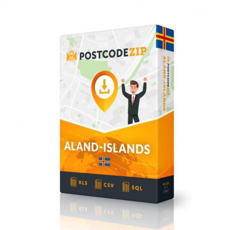 Aland Islands, Liste von Regionen