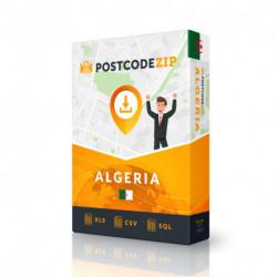 Algerien, Liste von Regionen