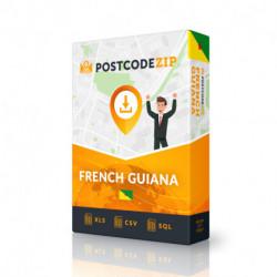 Guyane française Complet, le meilleur fichier