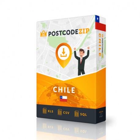 Chile, Liste von Regionen