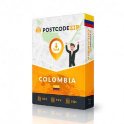 Kolumbien, Liste von Regionen