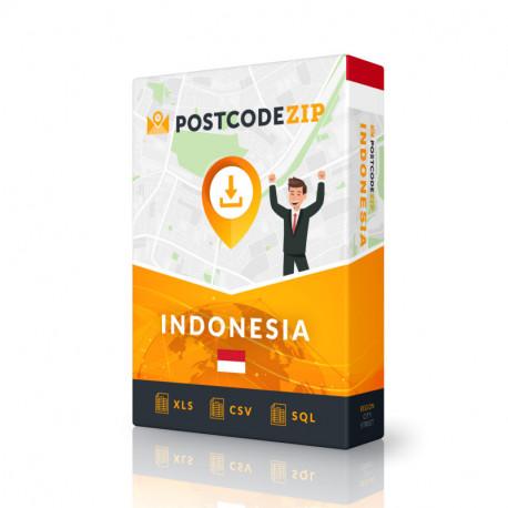 Indonesien, Liste von Regionen