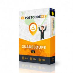 Guadeloupe, Beste Datei von Straßen, Kompletter Satz