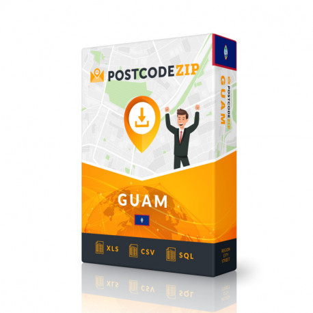 Guam Complete Set, best file of streets
